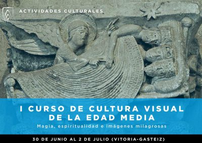 I Curso de Cultura Visual de la Edad Media: Magia, espiritualidad e imágenes milagrosas